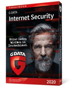 G DATA Internet Security 1 PC 2021 VOLLVERSION GDATA sofort per EMAIL digital