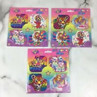 NEW 2 Piece Lisa Frank Character Swirl Decorations Party Birthday ...