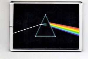 Dark Side of Moon Fridge Magnet 90mm x 60 Pink Floyd Rock psychedelic legend