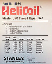 Helicoil 4934 Master Repair Kit; FREE Expedited SAME Business Day Shipping!