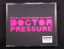 Mylo vs Miami Sound Machine - Doctor Pressure - CD Single - Australia - 5 Tracks