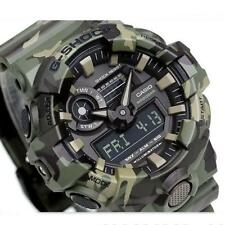 CASIO G-SHOCK, GA700CM-3A GA-700CM-3A, ANALOG DIGITAL, GREEN CAMOUFLAGE, MATTE