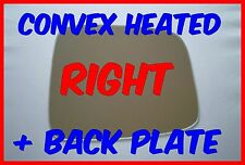 VAUXHALL FRONTERA 1998-2004 RIGHT  MIRROR GLASS CONVEX HEATED+ BACK PLATE