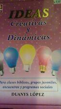 Ideas creativas y Dinamicas- Duanys Lopez