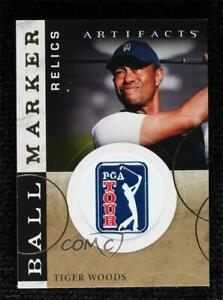 2021 Upper Deck Artifacts Ball Marker Relics Tiger Woods #BM-TW