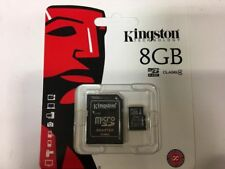Kingston 8GB Micro SD SDHC Class4 80MB/S Memory Card with Adapter