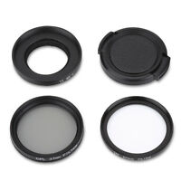 CPL+UV 37mm Filter Circular Lens Protector for Xiaomi YI Gopro Sports Camera SP