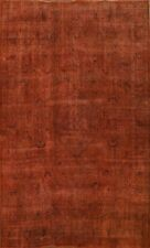 New listing Antique Overdyed Traditional Area Rug Vintage Distressed Handmade Oriental 9x12