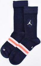 NIKE AIR JORDAN Men's LEGACY Crew Socks, Navy Blue, size UK 7-11