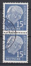 BRD 1954 Mi. Nr. 184 senkrechtes Paar gestempelt (18320)