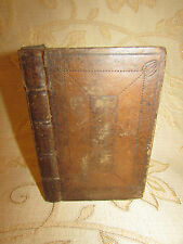 Book Of Officium Eucharisticum A Preparatory Service Of The Lord's Supper -1706