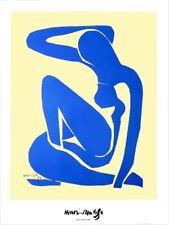 Henri Matisse - Blue Nude - Farboffsetlithographie - 1952 - signiert und datiert