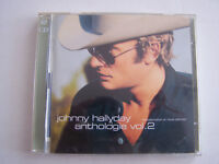 CD JOHNNY HALLYDAY REMASTERISE , ANTHOLOGIE VOL 2 , 2 CD , 40 TITRES . BON ETAT