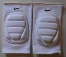 Nike Adult Unisex Volleyball Bubble Knee Pads 1 Pair S/M White/Black New