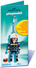 PLAYMOBIL®  6664  Schlüsselanhänger Feuerwehrmann, NEU & OVP, DHL - Paketversand