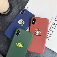 3D Cute Alien Disney Toy Story Soft TPU Phone Case iPhone 6s 7 8Plus X XR XS Max