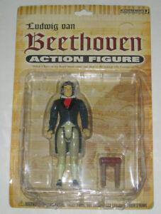 "Ludwig Van Beethoven 5 1/4"" Action Figure  2004  Accoutrements  #11256 BRAND NEW"