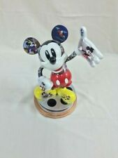 Bradford Exchange Disney Mickey Mouse Magical Moments Sculpture W/Quote Damaged