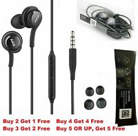 For OEM Samsung Galaxy S6 S7 S8 S9 S10 Note 8 9 Earbuds Headphones Headset Gift