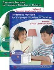 Treatment Protocols for Language Disorders in Children Two Volume Set (Protocols