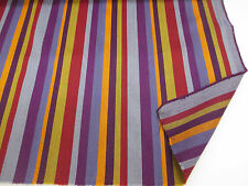 "Multi Stripes (3) ""Paul Smith STYLE Striped 100% Wool Curtain/Upholstery Fabric"