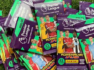 ENGLISH PREMIER LEAGUE 2021-22 PANINI ADRENALYN XL SINGLE PACK FOOTBALL CARDS