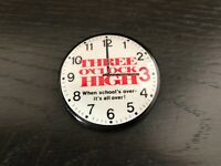 Vintage 1987 Three O'Clock High Pin Pinback Button 1980s School Teen Movie