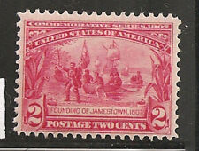 USA 329  VF  LH SC. Value $25.00