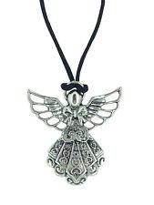 ANGELO CUSTODE argento tibetano CIONDOLO protezione