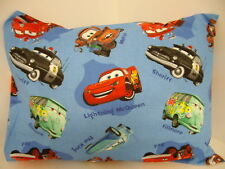 Child Toddler Cot Pillowcase Disney Cars 2 - Blue - 100% Cotton