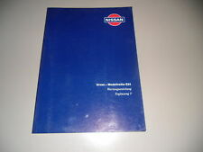 Maintenance Manual Nissan Urvan E24 Supplement 11/1994