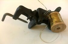 Antique Vintage Thompson Fly Fishing Tying Vise Cast Iron Rare Find!