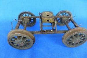 """Live Steam Trucks for Freight Car or Tender 1"""" Scale 4-3/4"""" Model Railroad"""