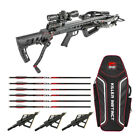 Killer Instinct Fatal X Crossbow with Dead Silent Crank and Accessory Bundle