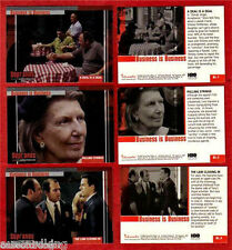 The Sopranos - Business Is Business - Box Loader Card SET (3) BL1-3 - NM