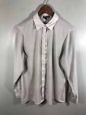 Express Button Down Dress Shirt Womens Medium  Career Work Used Great Condition