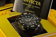 19810 Invicta 300M Combat Triple Black Grand Diver 3D Case Dial Automatic Watch
