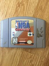 NBA Courtside Nintendo 64 N64 Game Cart Works NG1