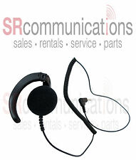 Listen Only Earpiece 3.5mm Remote Speaker Microphone Icom Kenwood Motorola Hyt