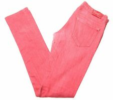 REPLAY Womens Jeans W28 L34 Red Cotton Slim  CO01