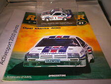 deagostini rally car collection Issue 51 1983 Opel Mantra 400 Guy Frequelin J-F