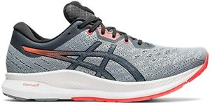 ASICS Men's EvoRide Running Shoes, Sheet Rock/Flash Coral, 10.5 D(M) US