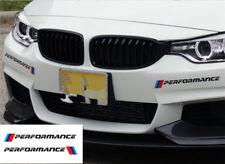 A Pair Black M PERFORMANCE Front Bumper Sticker Decals Sport Graphics Sticker