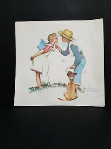 1970 NORMAN ROCKWELL BUTTER UP YOUNG LOVE