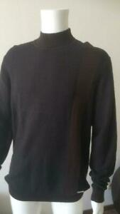 Loro Piana Sweater, Size 2XL, Color black with brown