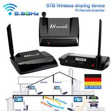 5.8G 300M HDMI 1080P AV Sender TV Wireless Transmitter Empfänger Audio Video DE