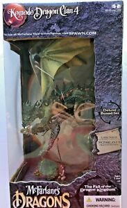Komodo Dragon Clan 4 McFarlane's Dragons The Fall Of The Dragon Kingdom - NIB