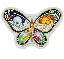 """(#32) Dan Morris NYMPH BUTTERFLY 5"""" x 3-1/2"""" die-cut sticker (833)"""
