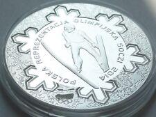 10 ZL ZLOTYCH POLAND POLEN 2014 Polish Olimpic Team Sochi