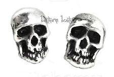 Goth : Alchemy Boucle d' Oreille Clous Tête de Mort Death Studs Gothique